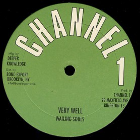 "(12"") THE WAILING SOULS - VERY WELL + DUB"