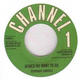 "(7"") STEPHANIE SAMUELS - AFRICA WE WANT TO GO"