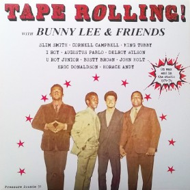 (2xLP) BUNNY LEE & FRIENDS - TAPE ROLLING