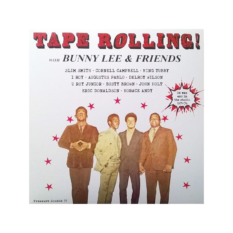 (2xLP) BUNNY LEE & FRIENDS - TAPE ROLLING