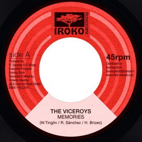 "(7"") THE VICEROYS - MEMORIES / MEMORIES DUB"