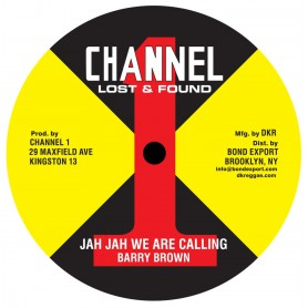 """(10"""") BARRY BROWN - JAH JAH WE ARE CALLING / TAKE YOUR TIME"""