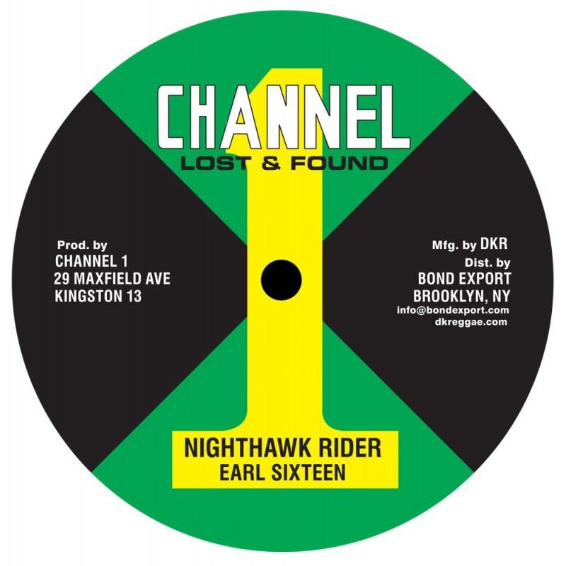 "(10"") EARL SIXTEEN - NIGHTHAWK RIDER / MUSIC MACHINE"