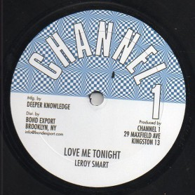 "(10"") LEROY SMART - LOVE ME TONIGHT / SUPER CHICK - BEES MAN"