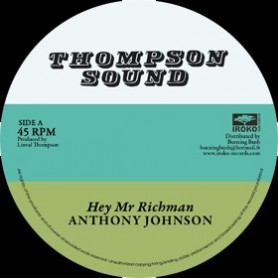 "(12"") ANTHONY JOHNSON - HEY MR RICHMAN / BUNNY LIE LIE - DON'T YOU TRY"
