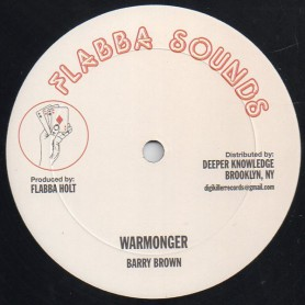 "(12"") BARRY BROWN - WARMONGER / RADICAL STYLE"