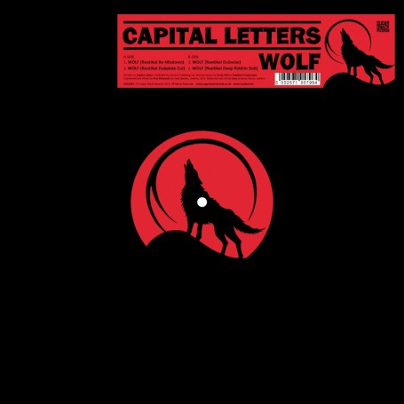 "(12"") CAPITAL LETTERS - WOLF"