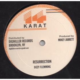 "(12"") DIZZY FLEMMING - RESURRECTION / MIKEY JARRETT - STARVATION"