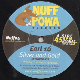 "(12"") EARL SIXTEEN - SILVER AND GOLD / DUB PROVIDERS - GOLDEN DUB"