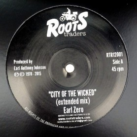 "(12"") EARL ZERO - CITY OF THE WICKED (Extented Mix) / THE SIMEONS - THE WRONG WAY + DUB"