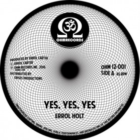 """(12"""") ERROL FLABBA HOLT - YES YES YES (Extented) / SWEET REGGAE MUSIC (Extented)"""