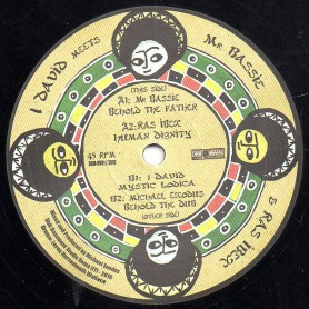 "(12"") I DAVID MEETS MR BASSIE & RAS IBEX - BEHOLD THE FATHER, HUMAN DIGNITY, MYSTIC LODICA, BEHOLD DUB"