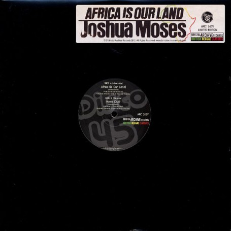 "(12"") JOSHUA MOSES - AFRICA IS OUR LAND / HOME"