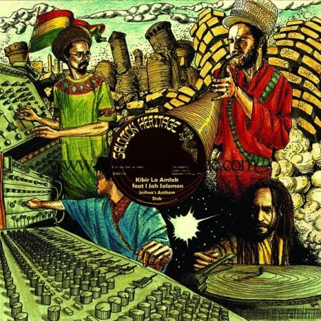 "(12"") KIBIR LA AMLAK FEAT I JAH SALOMON - JOSHUA'S ANTHEM"
