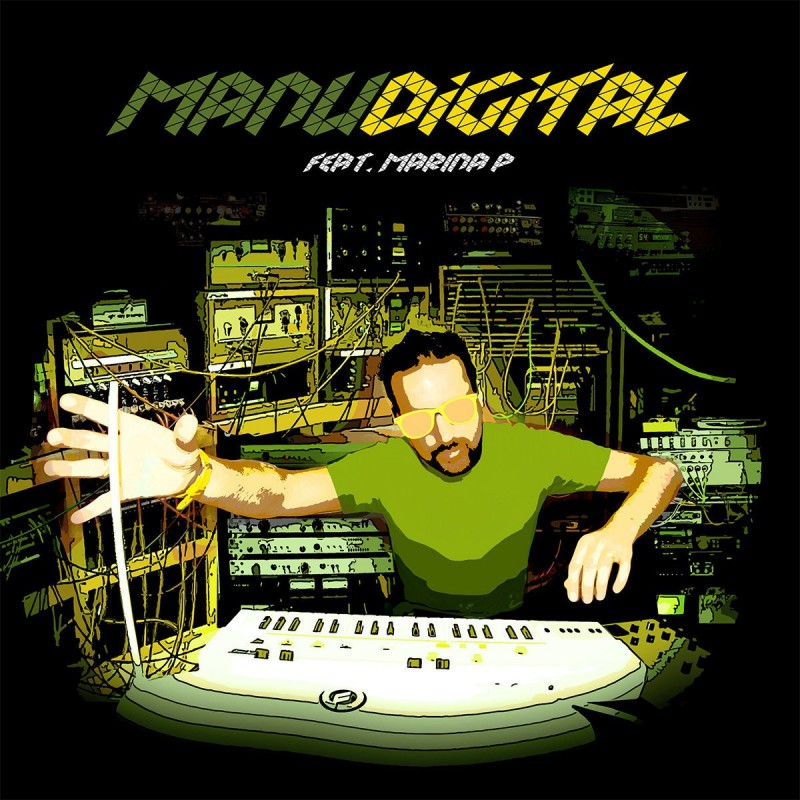 "(12"") MANUDIGITAL FEAT MARINA P - DIGITAL LAB VOL.3"