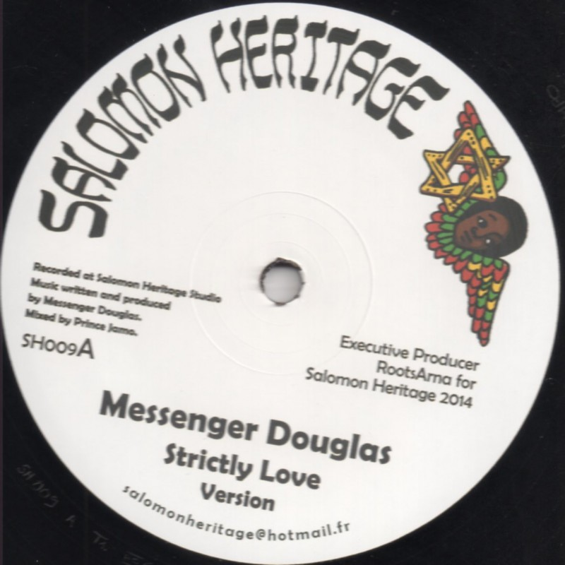 "(12"") MESSENGER DOUGLAS - STRICTLY LOVE / DABA MAKOUREJAH - SOULFUL REVOLUTION"
