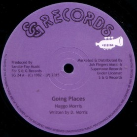 "(12"") NAGGO MORRIS - GOING PLACES / A TRUE YOU NA KNOW"