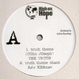 "(12"") THE TRUTH - TRUTH THEM / RAS KEFENSE - TRUTH THEM CHANT / TRUTH THEM DUB"