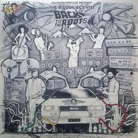 "(2x12"") SALOMON HERITAGE PRESENTS THE RIDDIM ACTIVIST - BACK TO THE ROOTS"