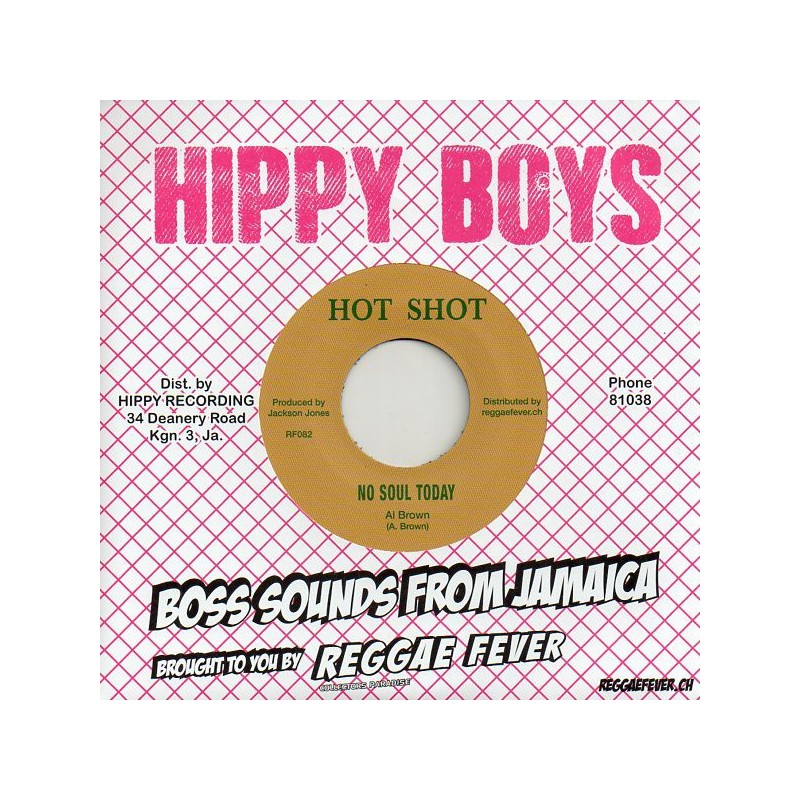 "(7"") AL BROWN - NO SOUL TODAY / WILLIE LINDO - SOUL FULL SOUL"
