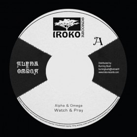"(7"") ALPHA & OMEGA - WATCH & PRAY / JUSTICE HAS TO BE SEEN"