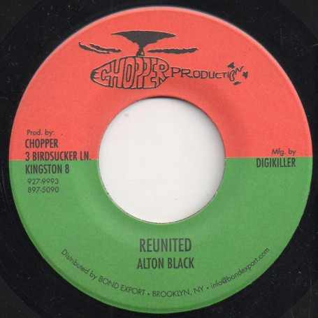 "(7"") ALTON BLACK - REUNITED / VERSION"