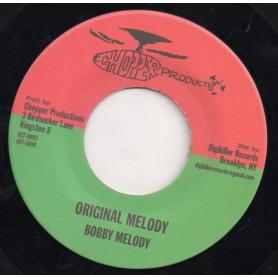 "(7"") BOBBY MELODY - ORIGINAL MELODY"