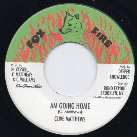 "(7"") CLIVE MATTHEWS - AM GOING HOME"
