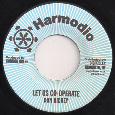 "(7"") DON HICKEY - LET US CO-OPERATE / VERSION"