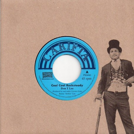"(7"") DON T LEE - COOL COOL ROCKSTEADY / GLEN ADAMS & ALVA LEWIS - S-H-I (I'm Shocking)"
