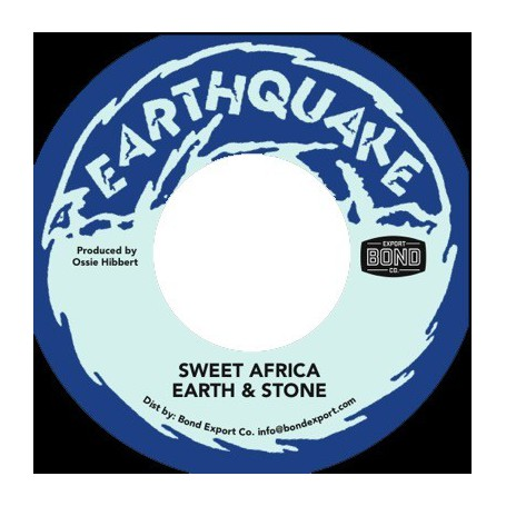 "(7"") EARTH & STONE - SWEET AFRICA"