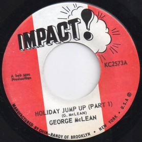 "(7"") GEORGE McLEAN - HOLIDAY JUMP UP PART 1 & 2"