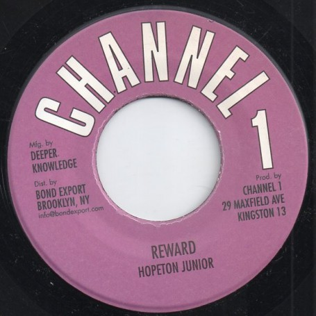 "(7"") HOPETON JUNIOR - REWARD / VERSION"