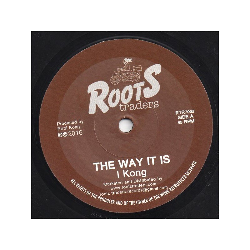 "(7"") I KONG - THE WAY IT IS / DUB"