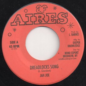 "(7"") JAH JOE - DREADLOCKS SONG / BULLWACKIE ALLSTARS - DREADLOCKS DUB"