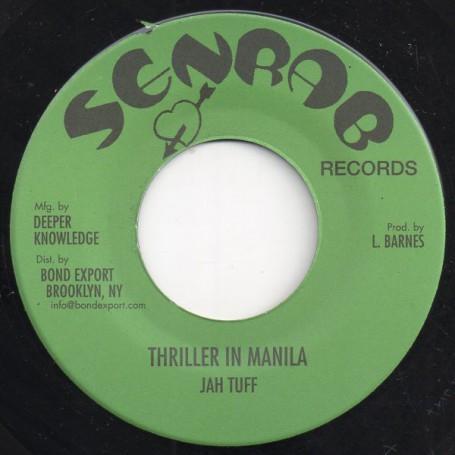 "(7"") JAH TUFF - THRILLER IN MANILA / JOHN CLARKE - WASN'T IT YOU"