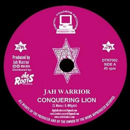 """(7"""") JAH WARRIOR - CONQUERING LION / CONQUERING DUB"""