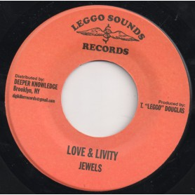 "(7"") JEWELS - LOVE & LIVITY"