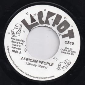 "(7"") JOHNNY CLARKE - AFRICAN PEOPLE"