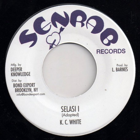 "(7"") K.C. WHITE - SELASI I / BULLWACKIES ALL STARS - DUBWISE"