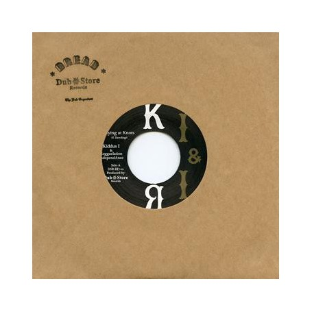 "(7"") KIDDUS I & REGGAELATION INDEPENDANCE - FLYING AT KNOTS / FLYING AT DUB"
