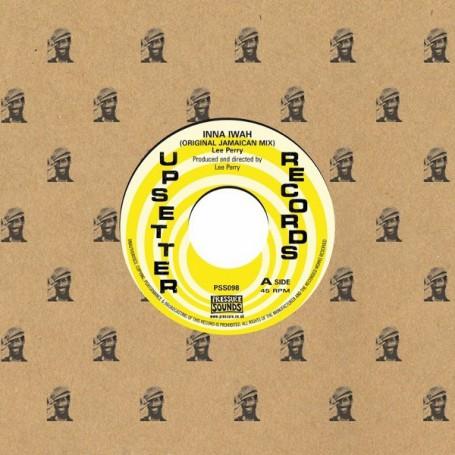 "(7"") LEE PERRY - INNA IWAH (ORIGINAL JAMAICAN MIX)"