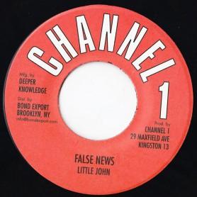 "(7"") LITTLE JOHN - FALSE NEWS"