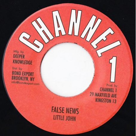 "(7"") LITTLE JOHN - FALSE NEWS / VERSION"