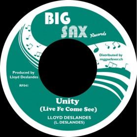 """(7"""") LLOYD DESLANDES - UNITY / UNITY DUB"""