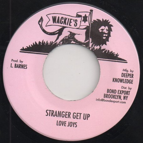 "(7"") LOVE JOYS - STRANGER GET UP / DUB"