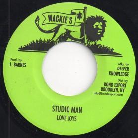 "(7"") LOVE JOYS - STUDIO MAN / DUB"
