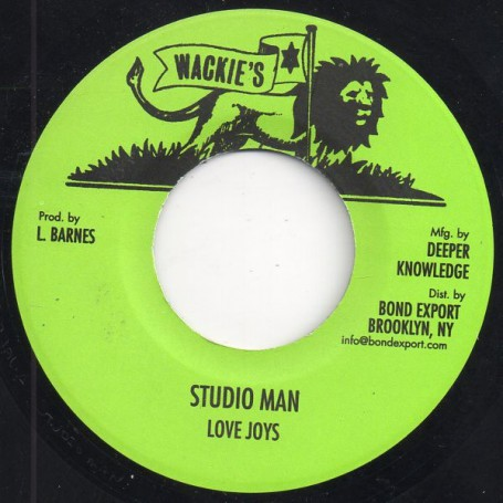"(7"") LOVE JOYS - STUDIO MAN / DUB"