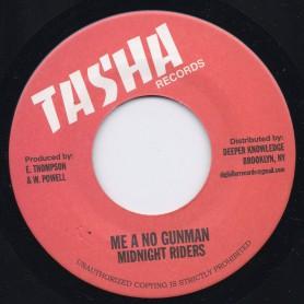 "(7"") MIDNIGHT RIDERS - ME A NO GUNMAN"