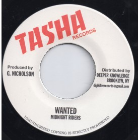 """(7"""") MIDNIGHT RIDERS - WANTED"""
